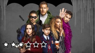 umbrella academy anmeldelse review serie netflix 2019