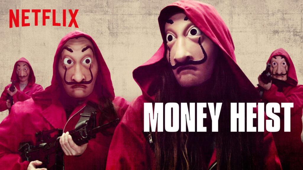 papirhuset money heist la casa de papel netflix