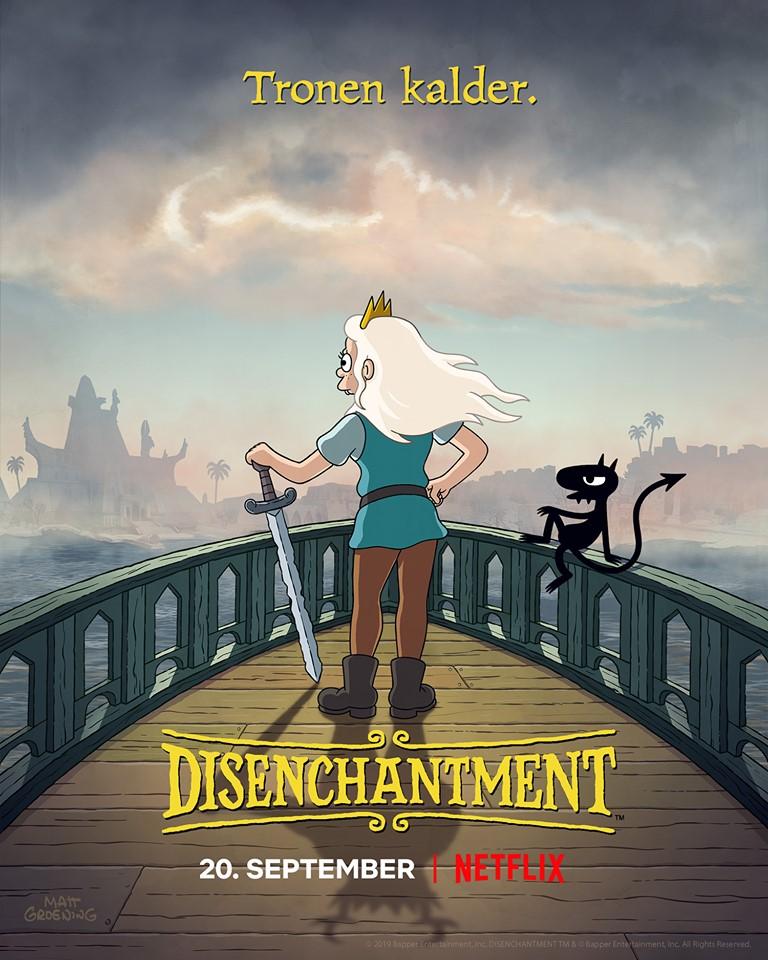 Disenchantment sæson 2 nye afsnit netflix