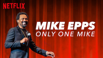 Mike Epps: Only One Mike film serier netflix