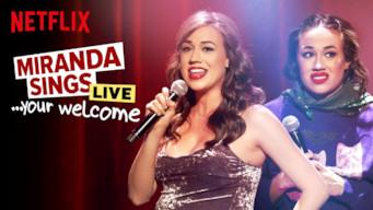 Se Miranda Sings Live…Your Welcome på Netflix