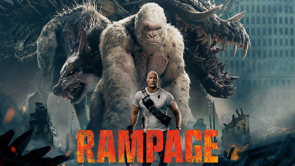 Rampage monsterfilm netflix danmark