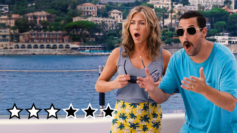murder mystery anmeldelse review netflix film adam sandler 2019