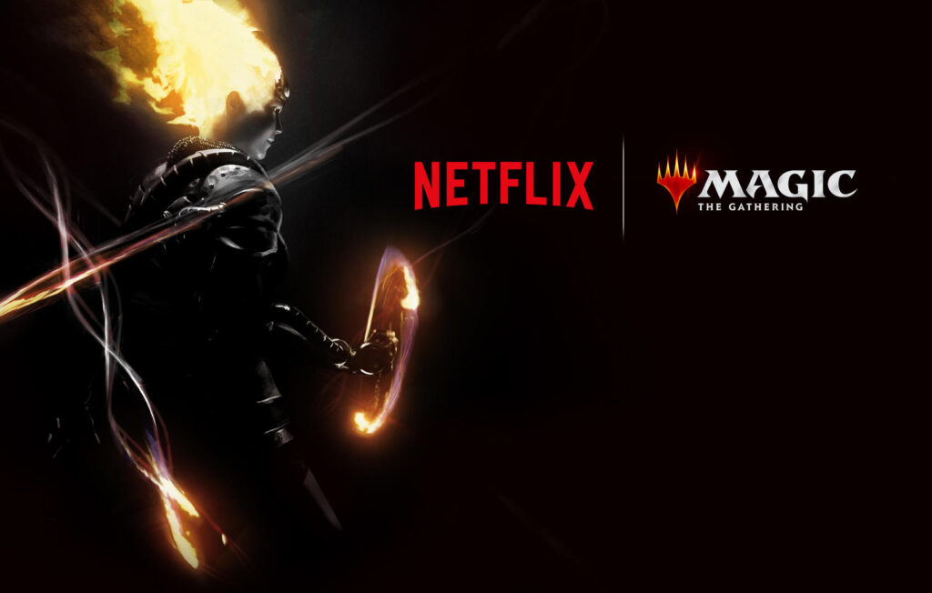 netflix magic the gathering kortspil serie danmark