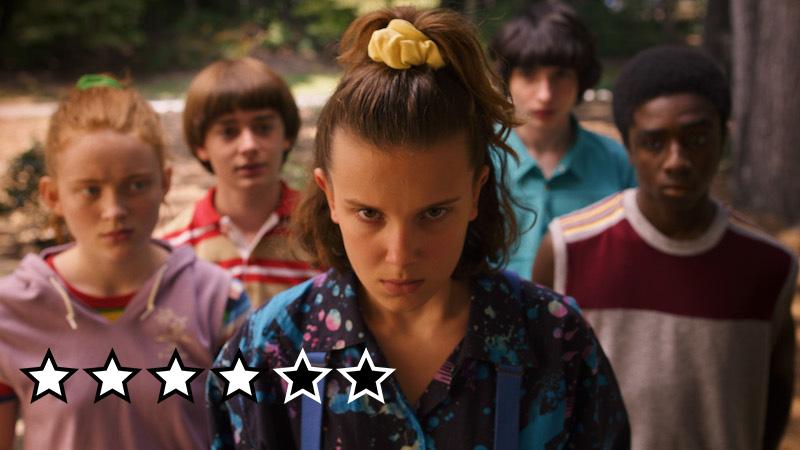 stranger things sæson 3 anmeldelse review netflix danmark 2019