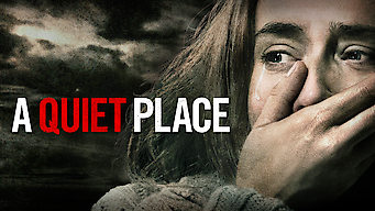 A Quiet Place film serier netflix