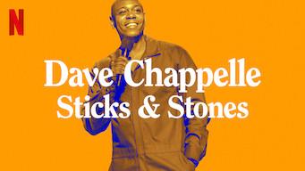 Se Dave Chappelle: Sticks & Stones på Netflix