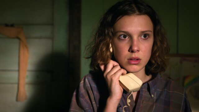 Millie Bobby Brown a time lost netflix film