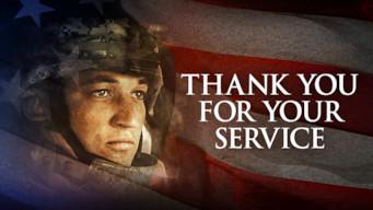 Se Thank You for Your Service på Netflix