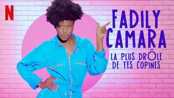 Fadily Camara : La plus drôle de tes copines film serier netflix