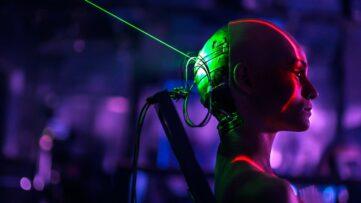 cyberpunk film serier netflix