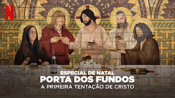 Se Especial de Natal Porta dos Fundos: A Primeira Tentação de Cristo på Netflix