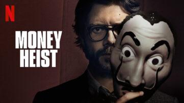 La casa de papel money heist papirhuset sæson 4 premiere netflix danmark