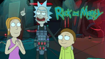Rick and Morty danmark netflix premiere dato