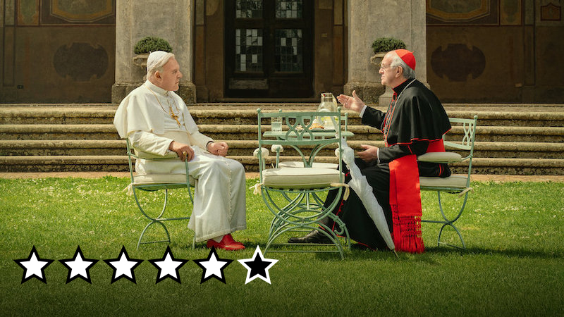 two popes anmedelse netflix film 2019