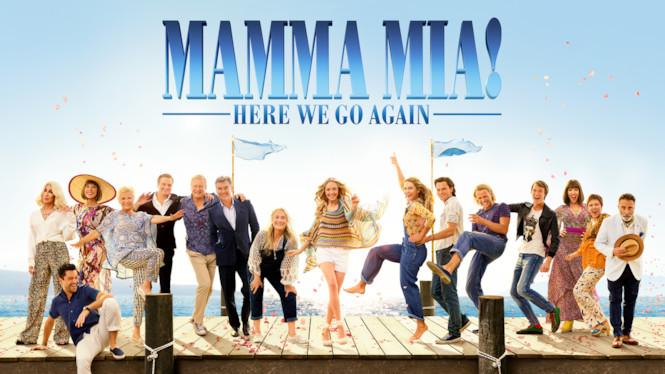 Se filmen Mamma Mia! Here We Go Again på Netflix