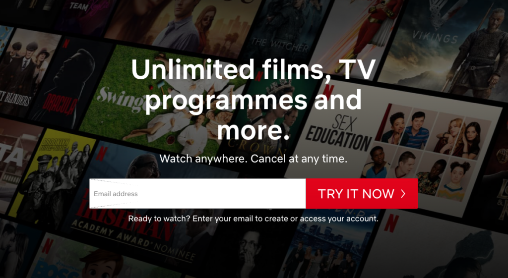 Netflix afskaffer gratis prøveperiode i Danmark