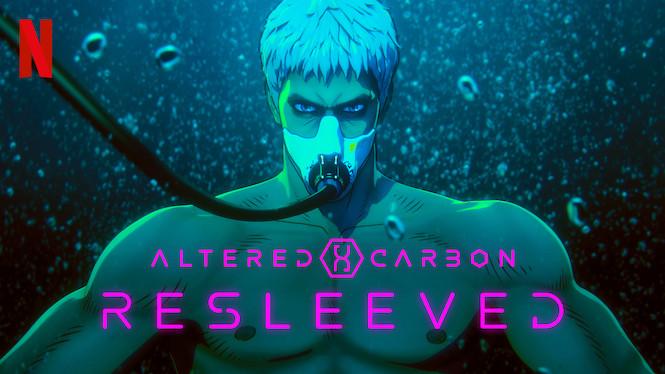 Se Altered Carbon: Resleeved på Netflix