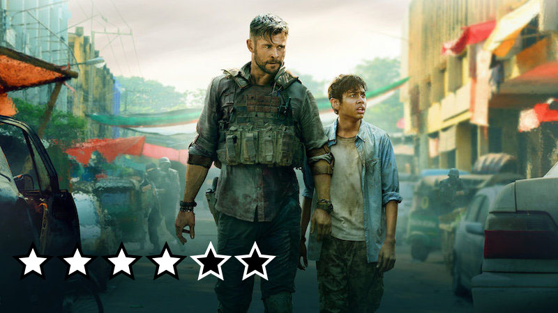 extraction anmeldelse netflix review film 2020