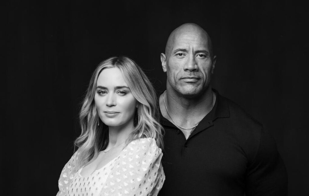 Ball and Chain med Dwayne Johnson og Emily Blunt lander hos Netflix