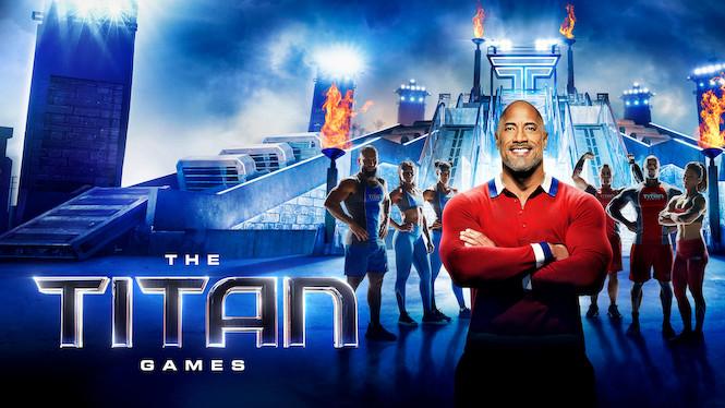 The Titan Games film serier netflix