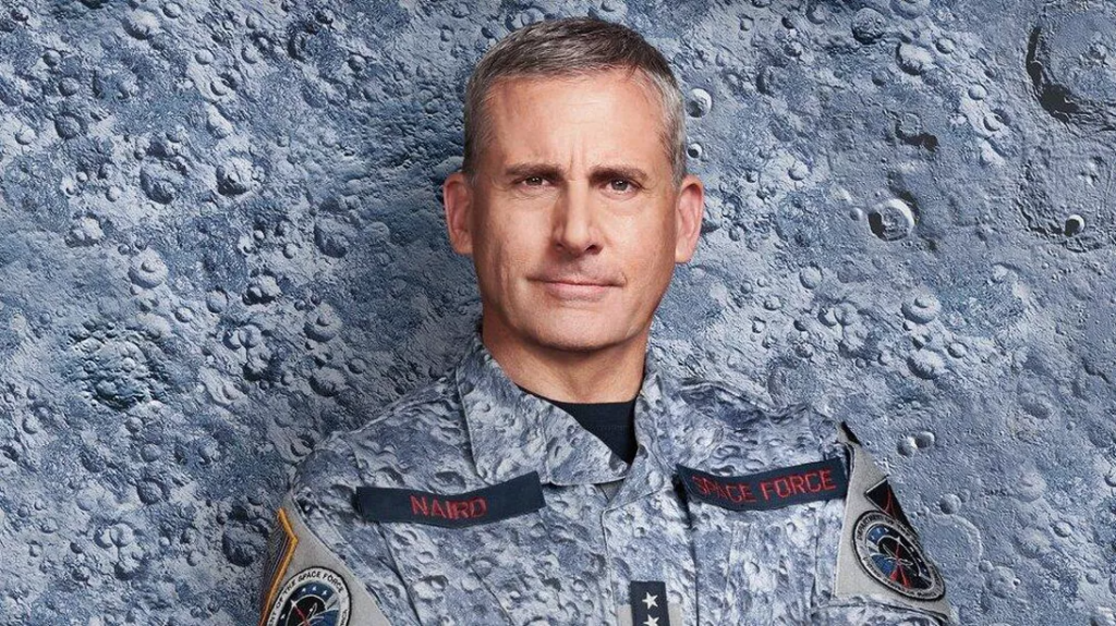 space force steve carell netflix serie