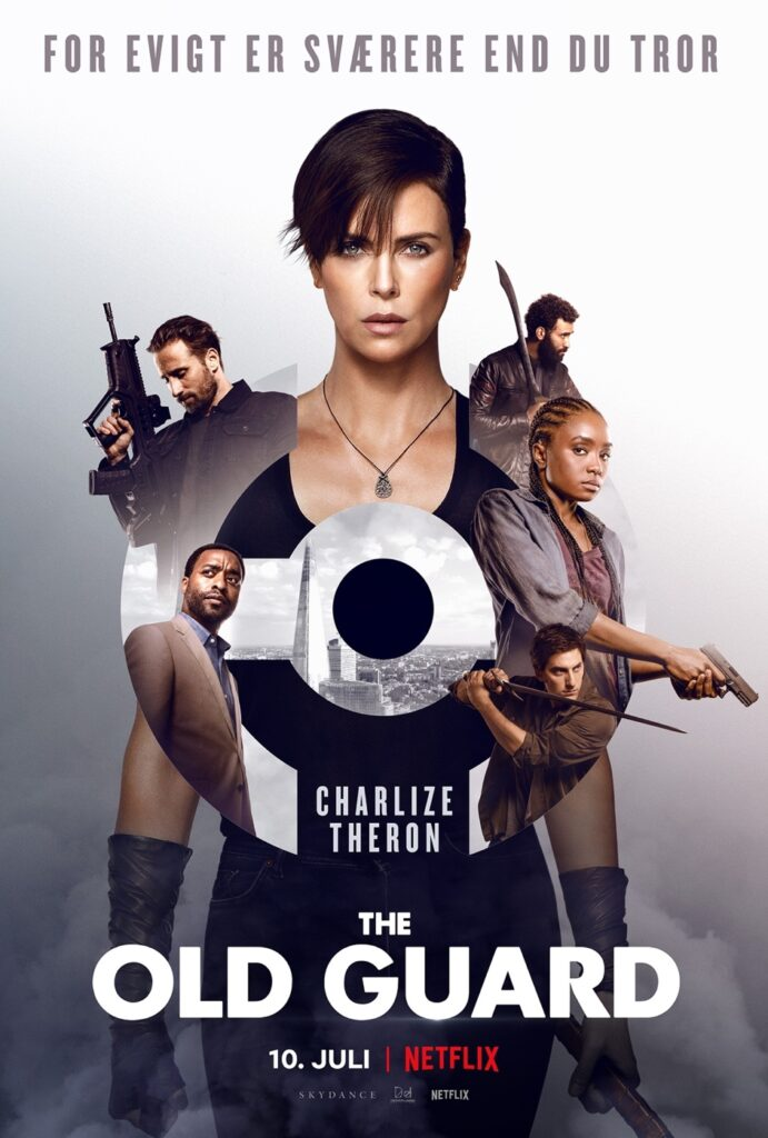 trailer til The Old Guard med Charlize Theron