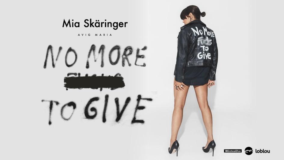 Mia Skäringers No More Fcks To Give kommer på Netflix den 17. juni