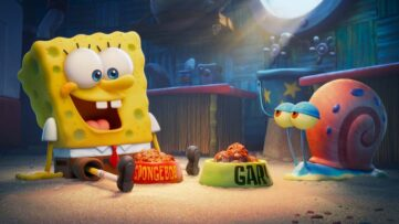 Biograffilmen SpongeBob Movie Sponge on the Run kommer direkte på Netflix