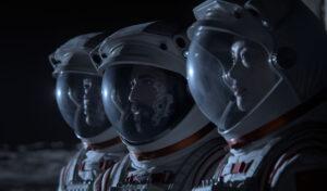 Se teaser til sci fi serien Away med Hilary Swank
