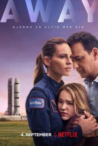 Hilary Swank rejser til Mars i rum serien Away Se trailer