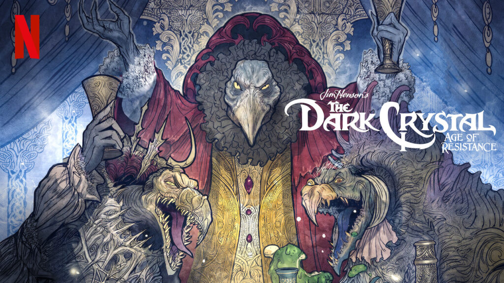 Den fantasifulde The Dark Crystal Age of Resistance droppet