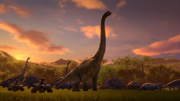 Jurassic World serie netflix