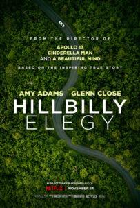 Hillbilly Elegy Melodramatisk storfilm med Amy Adams og Glenn Close