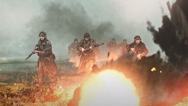 Netflix teaser animeret Anden Verdenskrig serie The Liberator