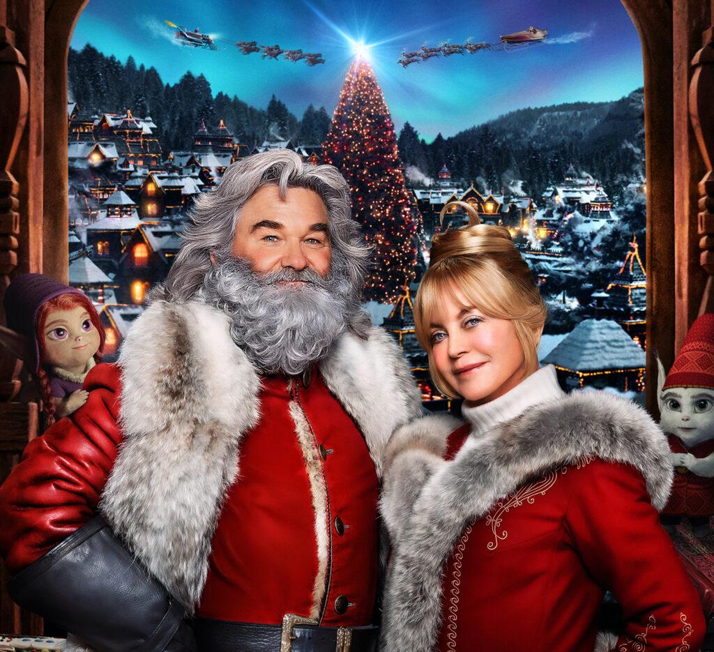 kommende julefilm og serier paa Netflix