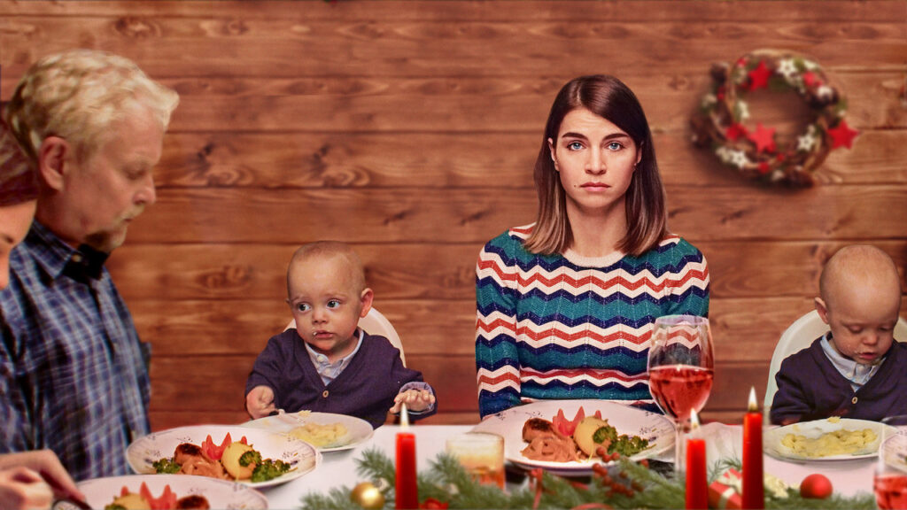 hjem til jul netflix serie