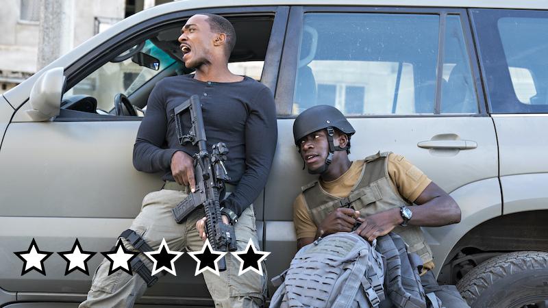 Outside the Wire anmeldelse netflix danmark film