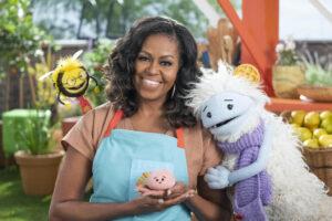 Michelle Obama netflix vaffel mochi