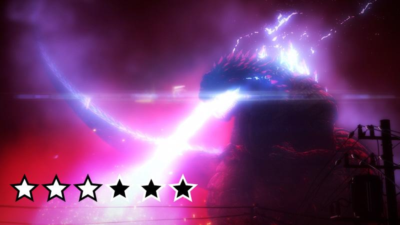 Godzilla Singular Point anmeldelse review