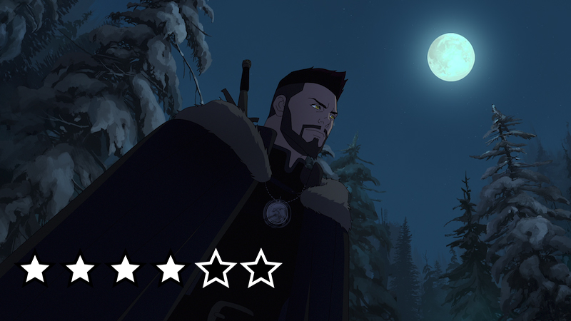 The Witcher Nightmare of the Wolf anmeldelse netflix